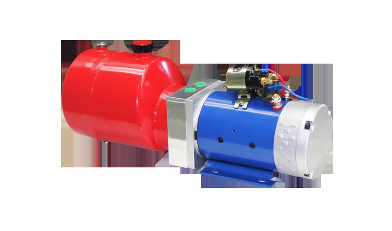 环卫侧翻桶车液压动力单元(无电磁阀)
