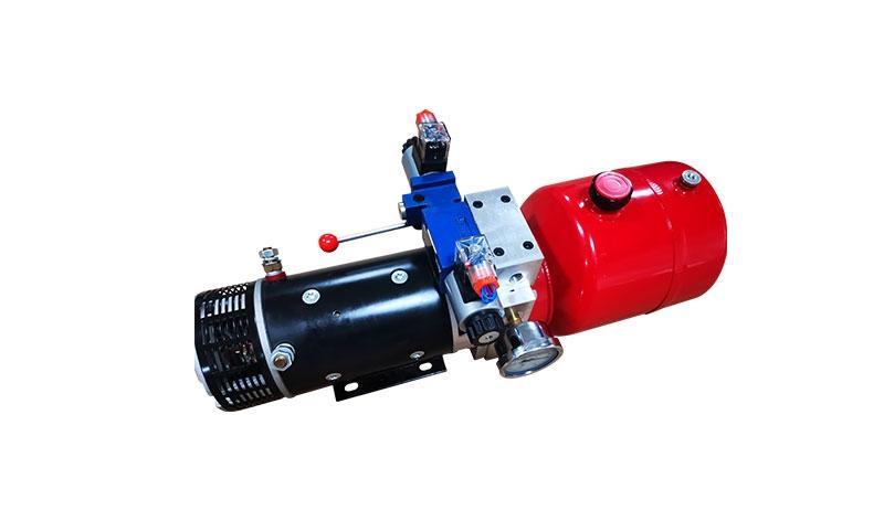 环卫手电一体电磁阀液压系统